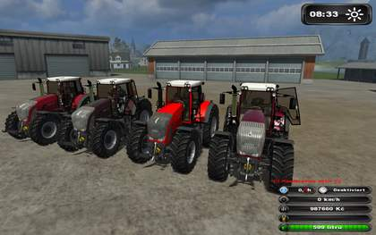 FENDT936 Vario Profi Ago Red line pack