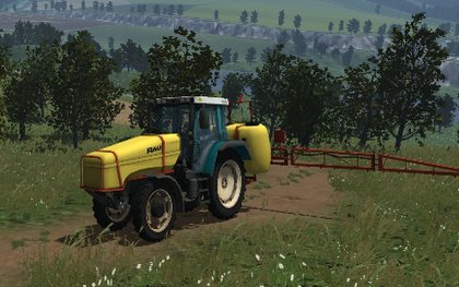 Fendt 380 GTA pack