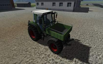 Fendt 380 GTA Turbo Kipper