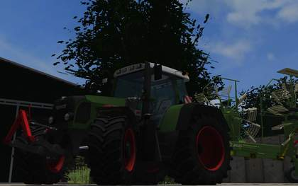Fendt 820 Vario TMS by metalger1