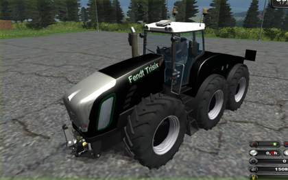 Fendt Trisix black v11