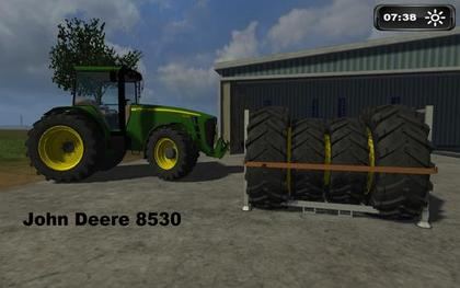 JD 8530 Dual wheel option