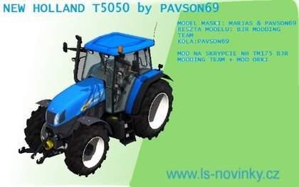 NEW HOLLANDT 5050