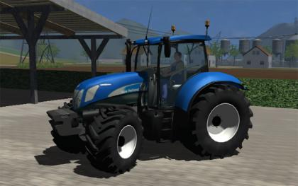 New Holland T7030V3