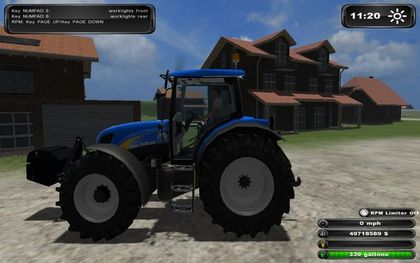 New Holland TS135