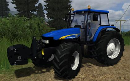 New Holland TM190 pack