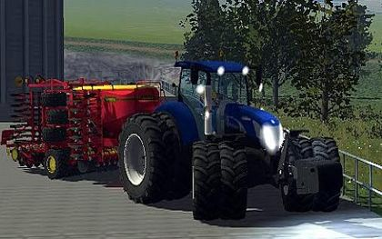 New Holland T7070BP