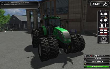 ValtraS352 V1.1 Green pack